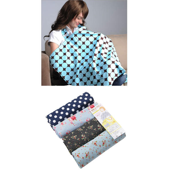 top popular Cotton Baby Nursing Covers Multi-Use Stretchy Infant Breastfeeding Cover Breathable Nursing Cloth 4Colors Big Size Feeding Cover 2019