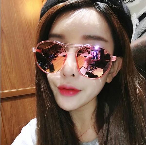 Hot Sale Brand Vintage sunglasses Oculos De Sol Retro Round Eyeware glass lens Sun Glasses for Women Girls