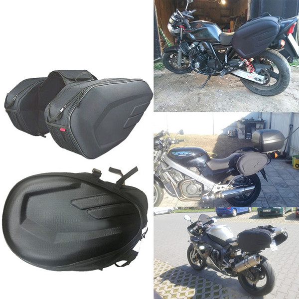 High Quality Waterproof Moto Tail Luggage Suitcase Sa212 Saddle Bag Motorcycle Side Helmet Riding Travel Bags With Rain Cover