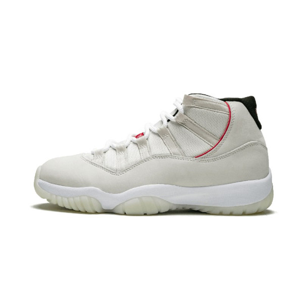 11 Platinum Tint 11s real carbon fiber men basketball shoes sneakers new released 2018 Top Factory Version