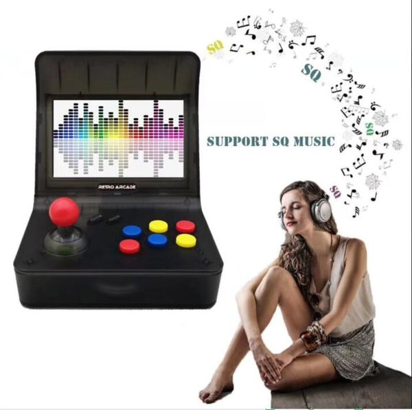 1pc/ HDMI Retro-Arcade 3000 IN 1 Game BOX Console Handheld GAME PAD with retail box 4.3inch Sceen 16GB MUSIC GAME BOX TF CARD Support