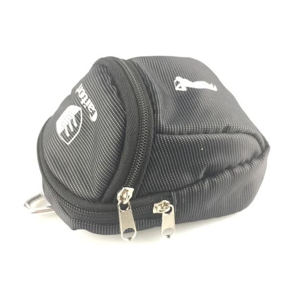 Kanca Ile 1 adet golf Mini Tutucu Bel Çantası naylon 6 golf topları tutabilir Açık Spor Golfçü Hediye paketi Ekonomik küçük çanta
