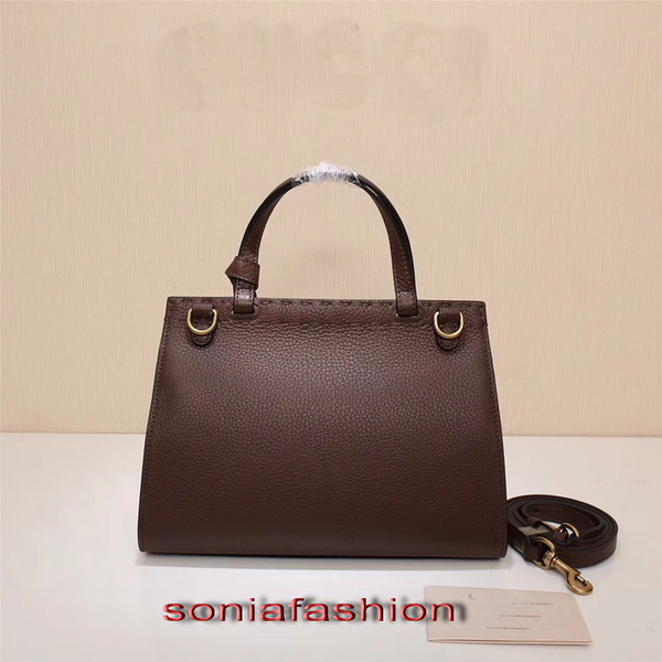 New style hot fashion women bag genuine leather designer handbag and should women bag with long strap free shipping