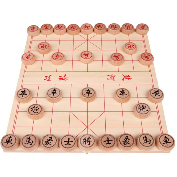 Chess Game Chinese Chess Long History Game Small Eucalyptus Chess Wooden Box Chessboard Puzzle Board Game Diy Canada 2019 From Fivepercentchn Cad