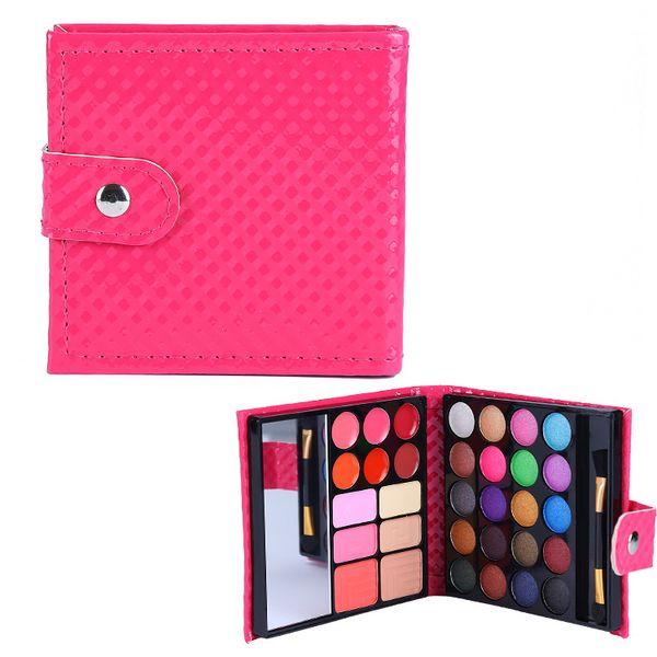 Eyeshadow Palette Matte Nude Eyeshadow Palette Flashing Eyebrow Makeup Mini Mirror Wallet Game 32 Color