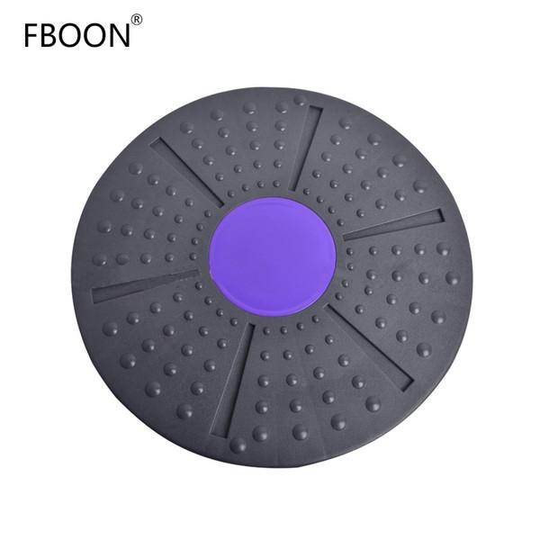 FBOON Balance Board Fitness Equipment Support 360Grado rotación masaje ABS Twist Board para giro ejercitador carga-cojinete 150kg