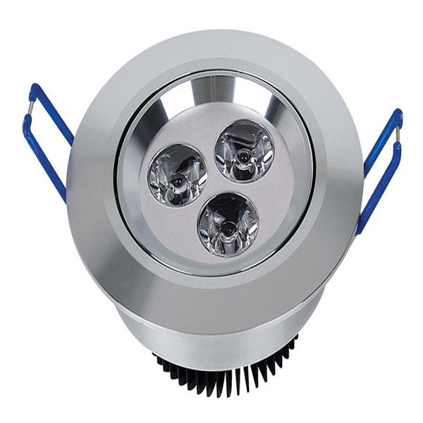 conduziu luzes recessed 36W 21W 15W 12W 9W conduziu a lâmpada de Dimmable das luzes de teto a lâmpada conduzida Dimmable conduziu abaixo das luzes