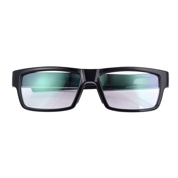 GANSS Full HD 1080P Sunglasses Camera DVR Eyewear Camcorder Glasses Voice Video Recorder Mini Camera Black