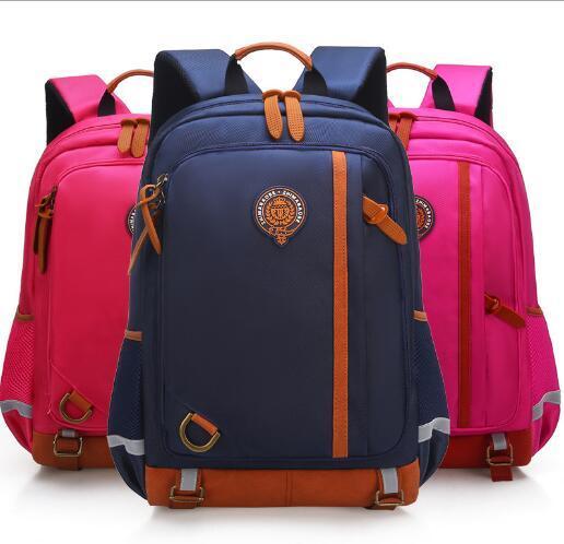 Wholesale children's school bag fashion British style primary school bag 1-3-4-6 grade reduction ridge 6-12 years old junior high school stu