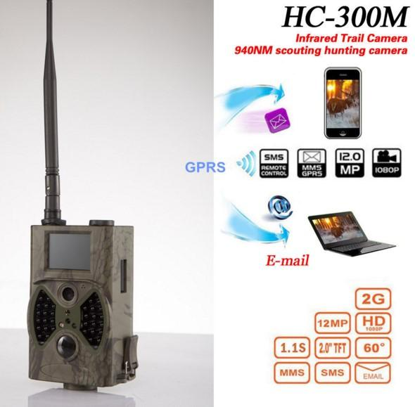 HC300M Hunting Trail Camera Full HD 12MP 1080P Video Night Vision MMS GPRS Scouting Infrared Game Hunter Cam