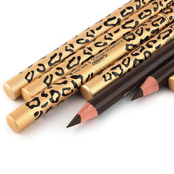 Perfect Eyebrow shadows Waterproof Longlasting Make Up Tool Eyebrow Pencil & Maquiage Brush Eye Brow Makeup Tools