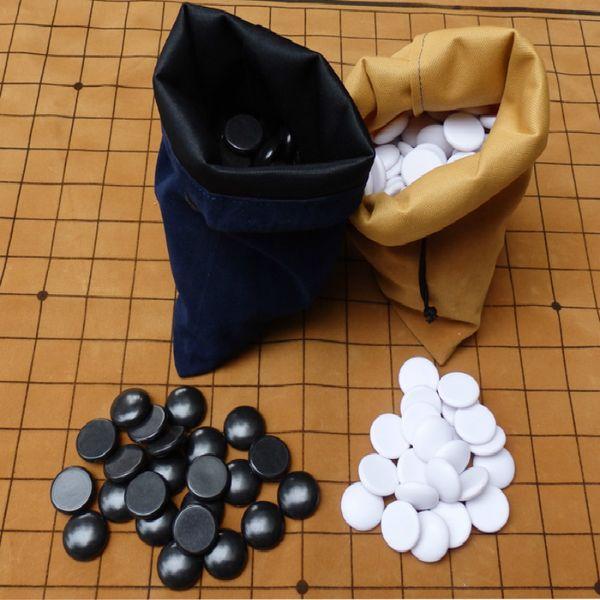 best selling children Go chess set melamine bakelite pieces around the weiqi board