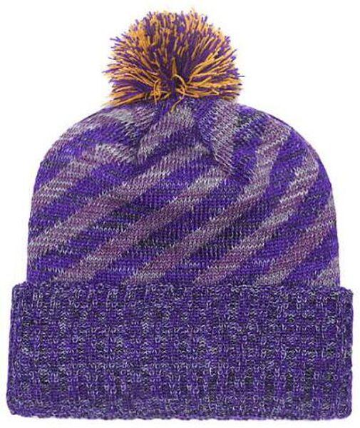 2019 Autumn Winter hat men women Sports Hats Custom Knitted Cap Sideline Cold Weather Knit hat Soft Warm Vikings Beanie Skull Cap