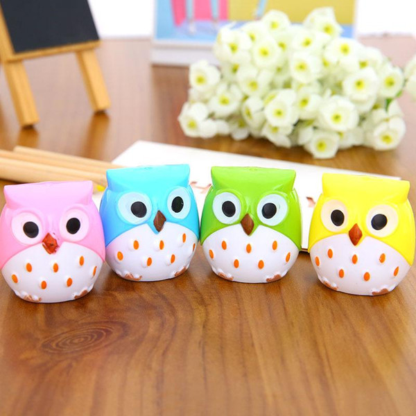 1 PCS Creative Kawaii Double Hole Pencil Sharpener Cutter Knife Promotional Gift Stationery Student Prize School Supplies