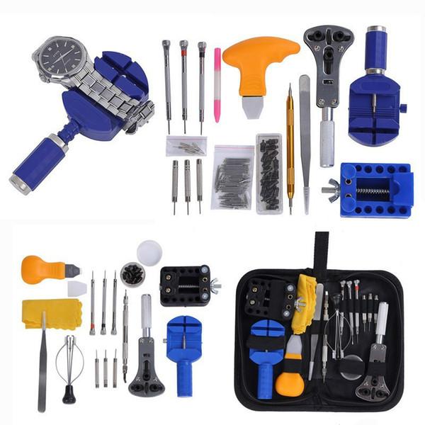 Ensemble Outils d/'Horloge Kit Réparation Horloger Outils Ouvreur Ressort