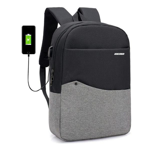 Computer Backpack Fashion USB Charging Hot Sale 2018 Rucksack Novelty Casual Multifunction Women Men Backpacks Laptop Bags