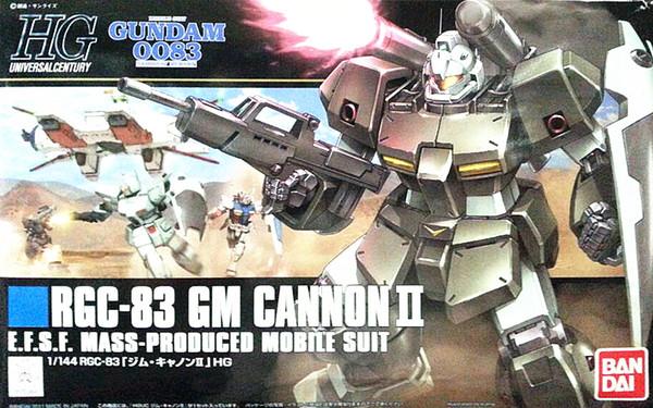 1 STÜCKE bandai 1/144 HGUC 125 RGC-83 GM Kanone II Gundam Mobile Suit Montage Modell Kits Anime action figure lbx spielzeug