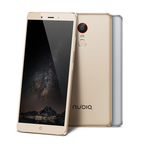 Original ZTE Nubia Z11 Max Cell Phone Snapdragon 652 Octa Core 4GB RAM 64GB ROM 6.0inch 16MP Dual SIM 4000mAh Fingerprint ID LTE Smart phone