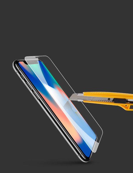 Suitable for IPhone XS Xr Max Full-screen HD Tempered Glass Film Apple 5/6/7 / 8PLUS Mobile Phone Film Explosion Proof Glass Film XR