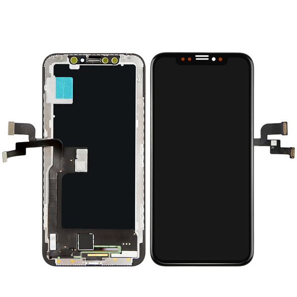 GX OLED for Phone X LCD Display Touch Digitizer Screen Replacement No Dead Pixel 100% Tested