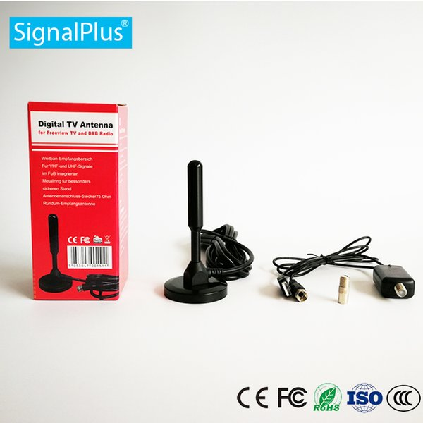 Ottieni 25dBi Digital DVB-T FM Antenna Antenna Freeview PC per TV HDTV TV wireless digitale Antenne per auto all'aperto