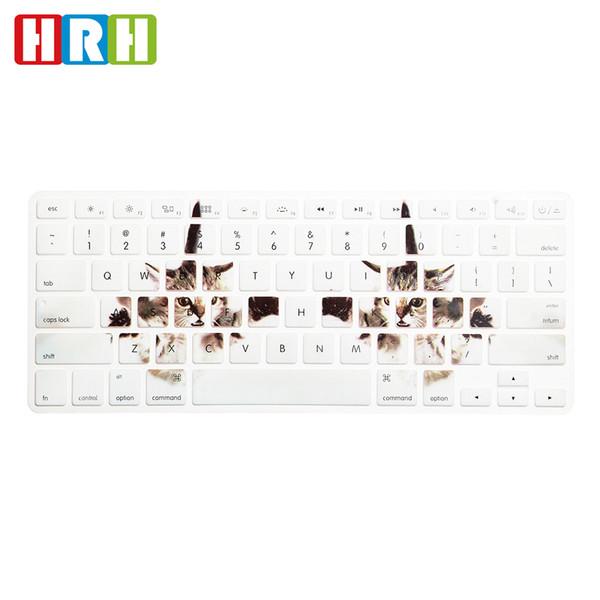 "Animal Design Laptop Keyboard Protective Film for Macbook Air Pro Retina Display 13"" 15"" 17"" English Keyboard Skin Cover"