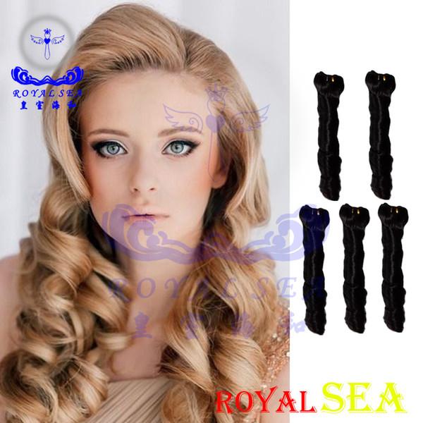 Brazilian Spring Curl Virgin Hair Extension Brazilian Hair Weave Bundles Curly 5Pcs Natural Black Curly Weave Human Hair
