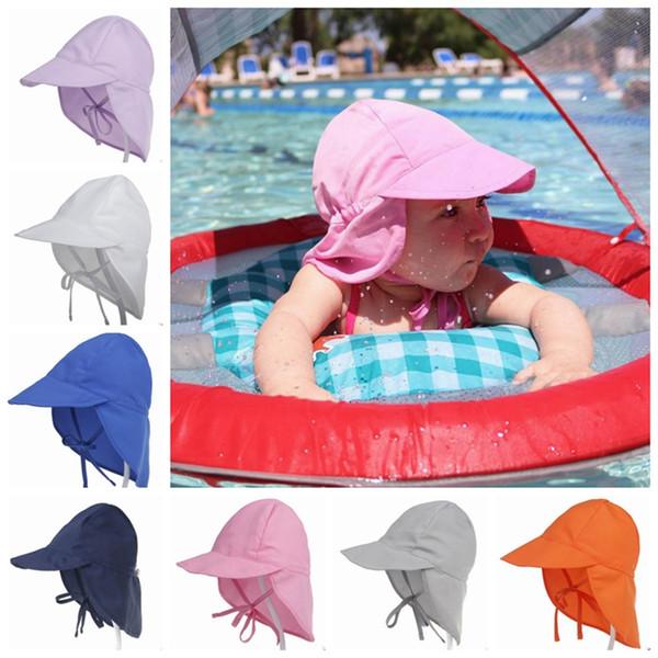 Bébé Chapeau De Soleil Respirant Enfants Chapeaux De Plage Floral Bucket Hat Été Neborn Sun Visor Hat 14 Modèles En Option Livraison Gratuite YW1004