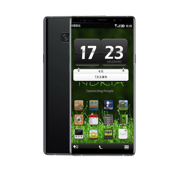 """Goophone N9 1GBRAM 8GBROM MTK6580 QuadCore Fingerprint Optional 8MP Andriod6.0 3G WCDMA 6.5"""" Glass Back Cover Phone Sealed Box"""
