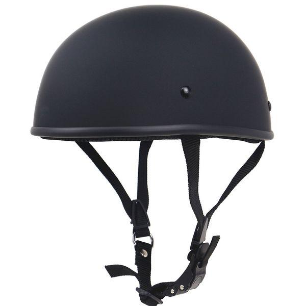 best selling No mushroom head light weight chopper bike helmet Vintage half face motorcycle helmet Fiberglass shell 680g only for adults