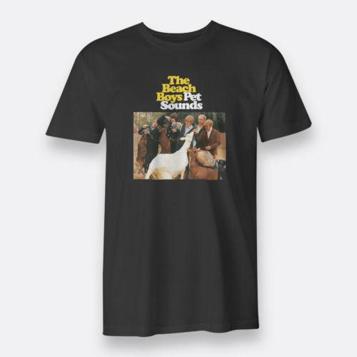 The Beach Boys Pet Sons TBB American Rock Band S-3XL Black Tee Mens T-Shirt Nouveau 2018 Hot Summer Casual Impression O-cou De Mode Imprimé