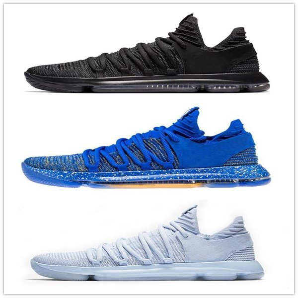 4cb6511fbde2 Newest Zoom KD 10 Anniversary Oreo Red Men Basketball Shoes KD 10 Kevin  Durant Grade School