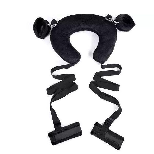 Секс-позиции для взрослых с ремнями для разминки ног с проложенной шеей