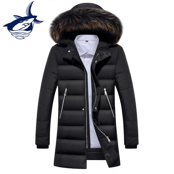 Acheter Manteau Long Manteau Slim Fit Épais Vestes D'hiver Pour Hommes De La Mode Pour Hommes Doudoune Hiver Homme De $89.39 Du Pamele | DHgate.Com