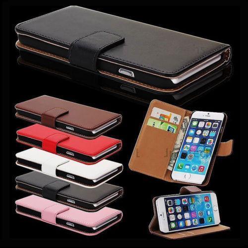 10pcs wholesales price Case For iPhone X 6 7 8 Plus 5s Flip Genuine Leather Magnetic Wallet Case Cover u347