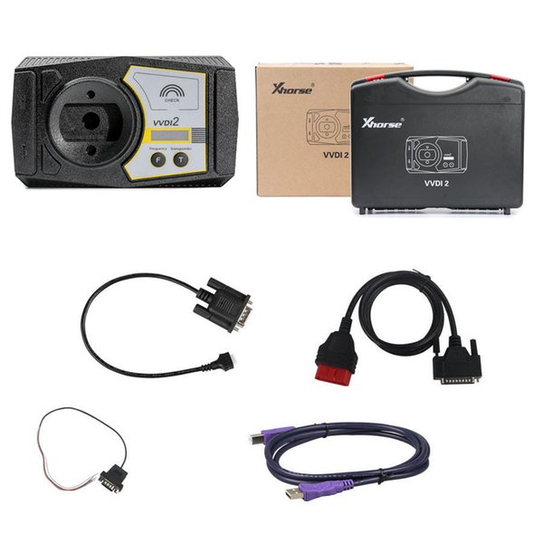 Xhorse VVDI2 Commander Key Programmer With Basic, BMW and OBD Functions, Newly Add BMW FEM/BDC Function