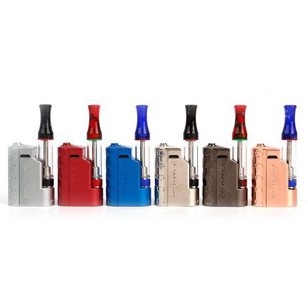 Cannon Mini Starter Kits 350mAh VV Variable Voltage Battery 1.0ml Resin Thick Oil Cartridge Tank 100% Authentic imini V2 Vape Kit