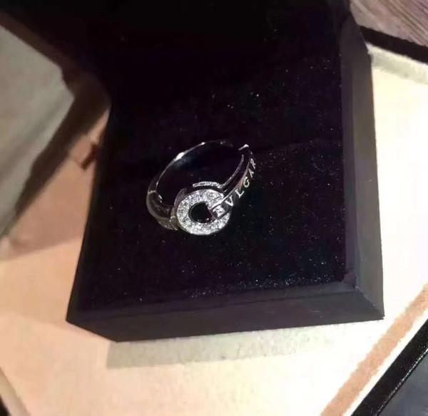 Venta al por mayor BV Home Luxury Brand Designer Anillo 19ss Bling Bling Anillo de diamante Anillos de boda Regalo de Navidad