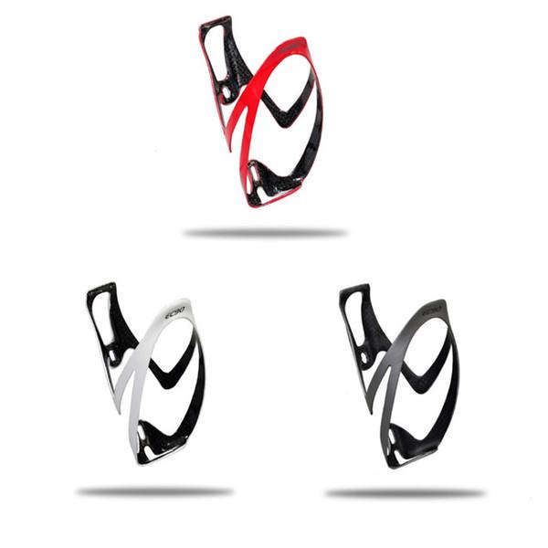 Neue EC90 kohlefaser flaschenhalter Rennrad schwarz wasserflaschenhalter wasserkäfige MTB fahrrad zubehör