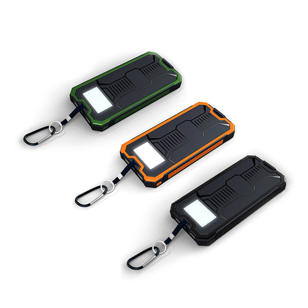 Solar Power bank Mobile Phone Power Banks Universal Portable Charger External Cell Phone For xiaomi Battery Powerbank 10000mah