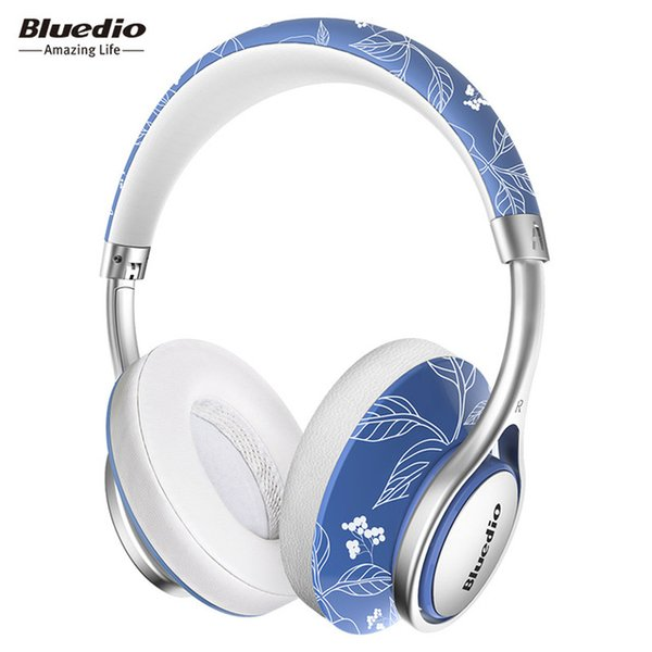 Original Bluedio A2 foldable bluetooth headphones BT4.2 Stereo wireless Fashion design over ear music headset phone accessory