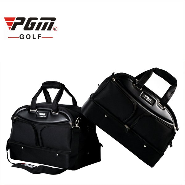 PGM Authentic Golf Clothing Bag For Man Waterproof Nylon High Capacity Durable Golf Bag Shoes Clothes Large Handbag D0057