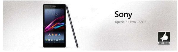 "Original unlocked Sony Xperia Z Ultra XL39H Android Quad-core 2gb Ram 16gb Rom C6802 C6833 3g&4g 6.4"" Screen Mobile phone"