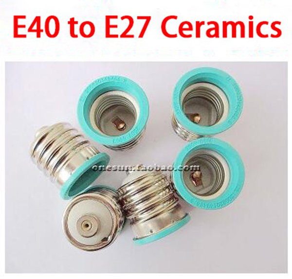 من E40 إلى E27 (سيراميك)