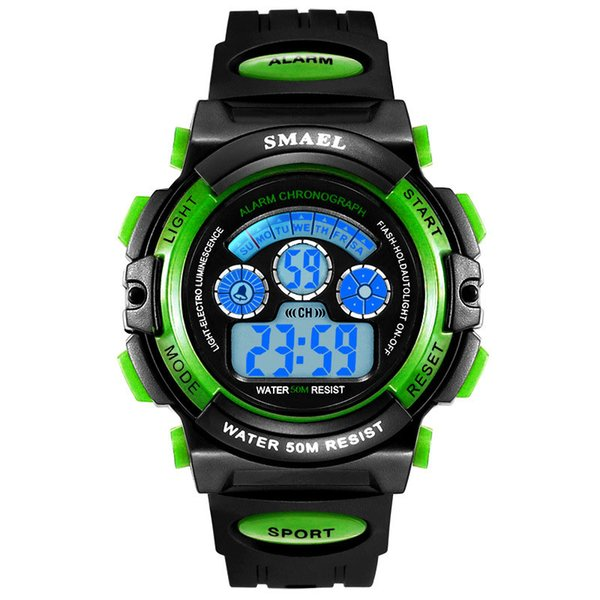 Free shipping TNT Post,Best sell Spain,Italy hot items sport watch ,waterproof watch,auto light,all dials working,copy items,GA110
