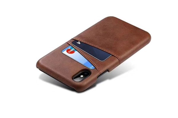 For iphoneX Case Luxury PU leather PC cover Business Style with card pouch for iphone 8plus 8 6 6plus 7 7plus Fashion better