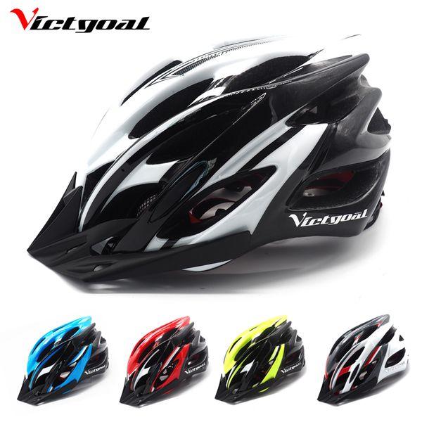 Victgoal Bicycle Helmet Hombres Mujeres Casco Ciclismo Sun Visor Bike Helmets Brim Shield Mtb Cascos Road Bike Moldeados integralmente