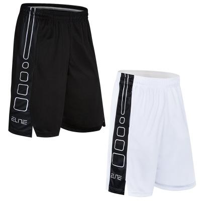 best selling Basketball Shorts New elite basketball pants, bodybuilding shorts, men's baggy pants, fast dry, breathed and running five pants.