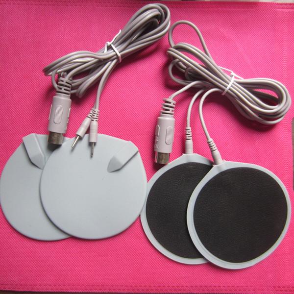 Électrodes micro-courant électrodes avec câbles pour machine de massage électro-stimulation