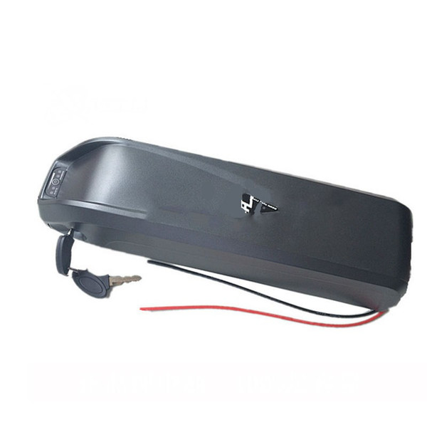 Free shipping and duty Hailong battery 36v 17ah lithium battery for electric bikes 36v new bottle battery pack with BMS+charger
